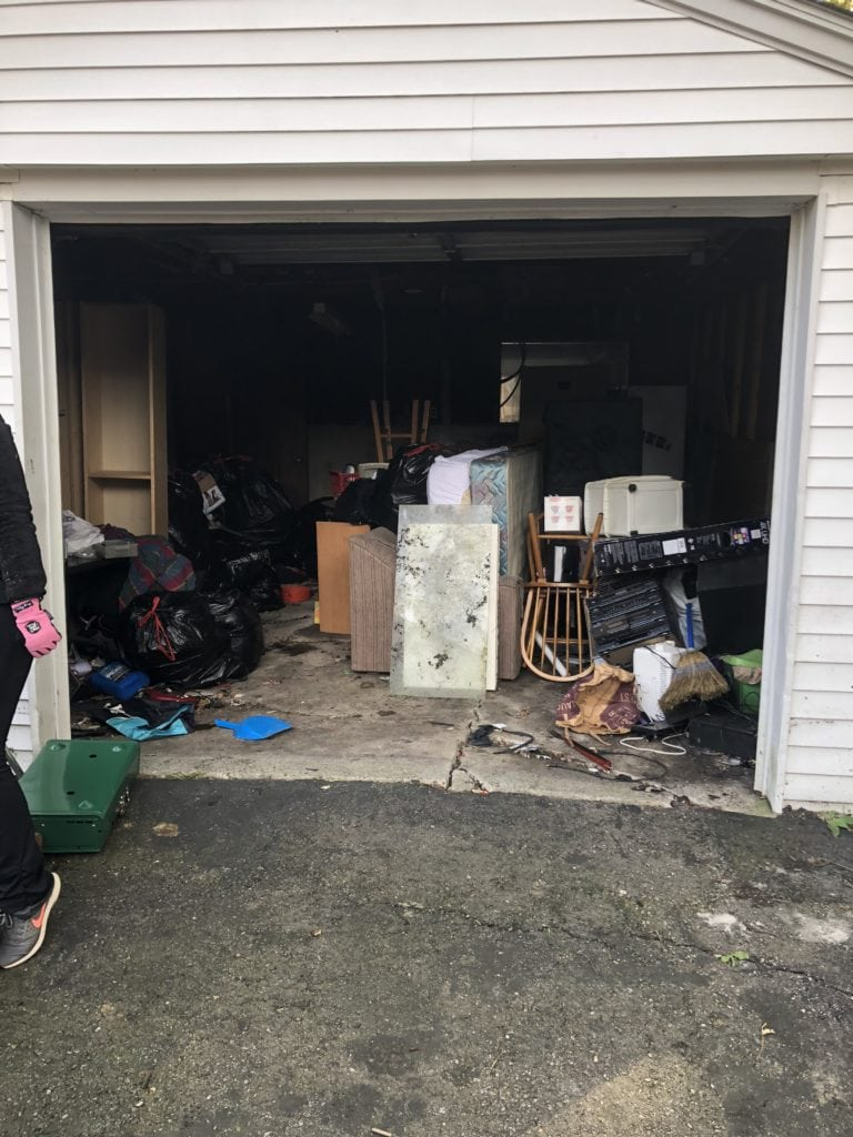 garage cleanout service